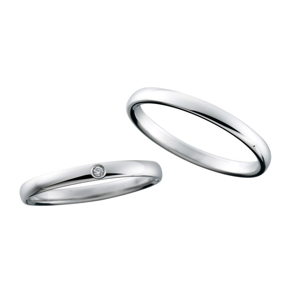 CN-083/CN-084 結婚指輪 シンプル ストレート プラチナ