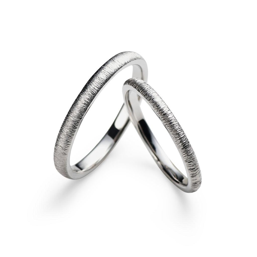 Clochette 結婚指輪 アンティーク 個性派 ストレート プラチナ