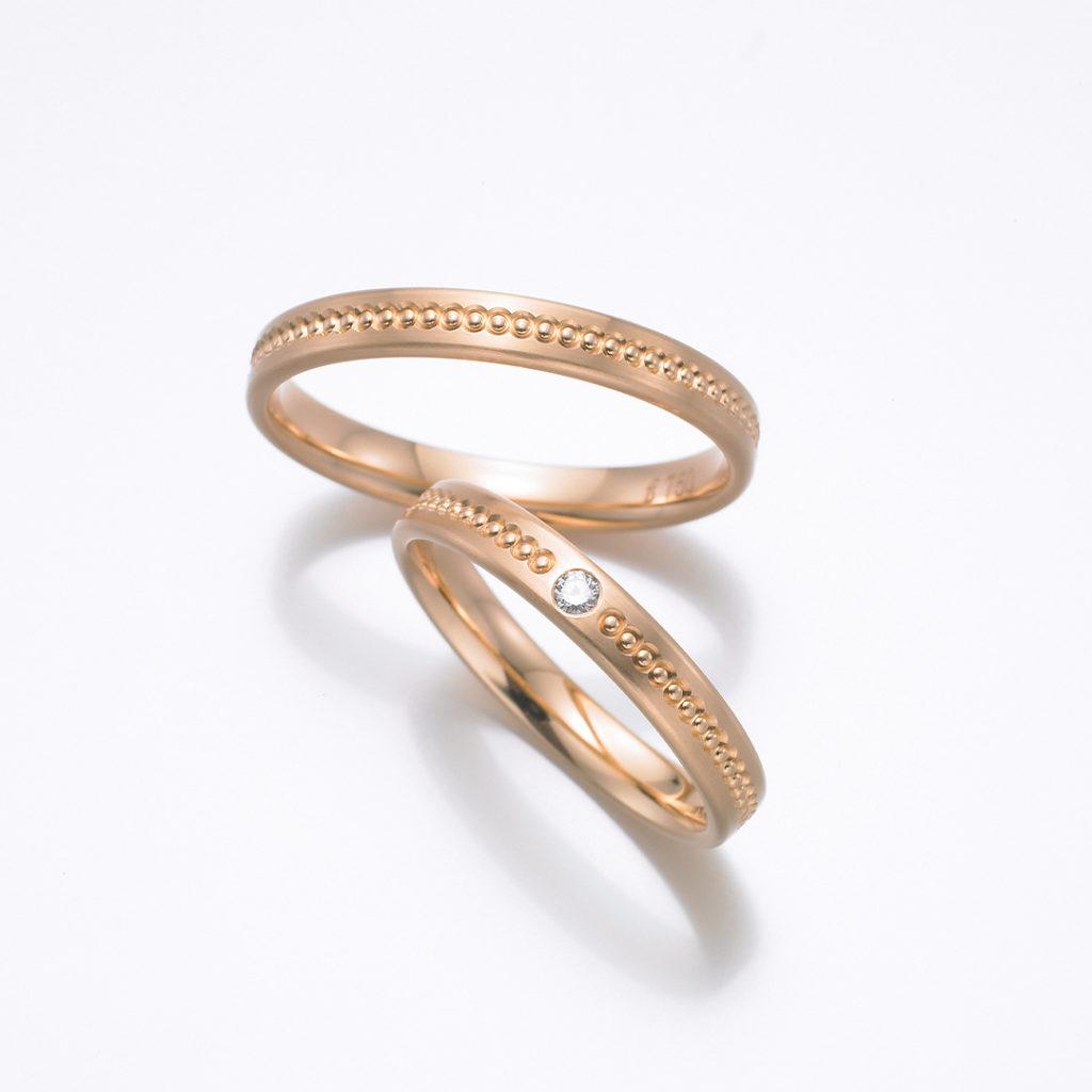 FISCHER 結婚指輪 エレガント ストレート イエローゴールド