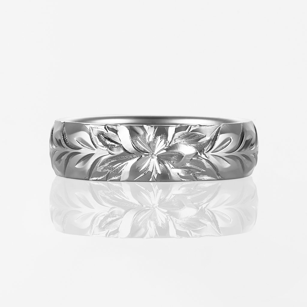 Lala Maka-Plain Barrel- 結婚指輪 シンプル 個性派 ストレート 幅広 プラチナ