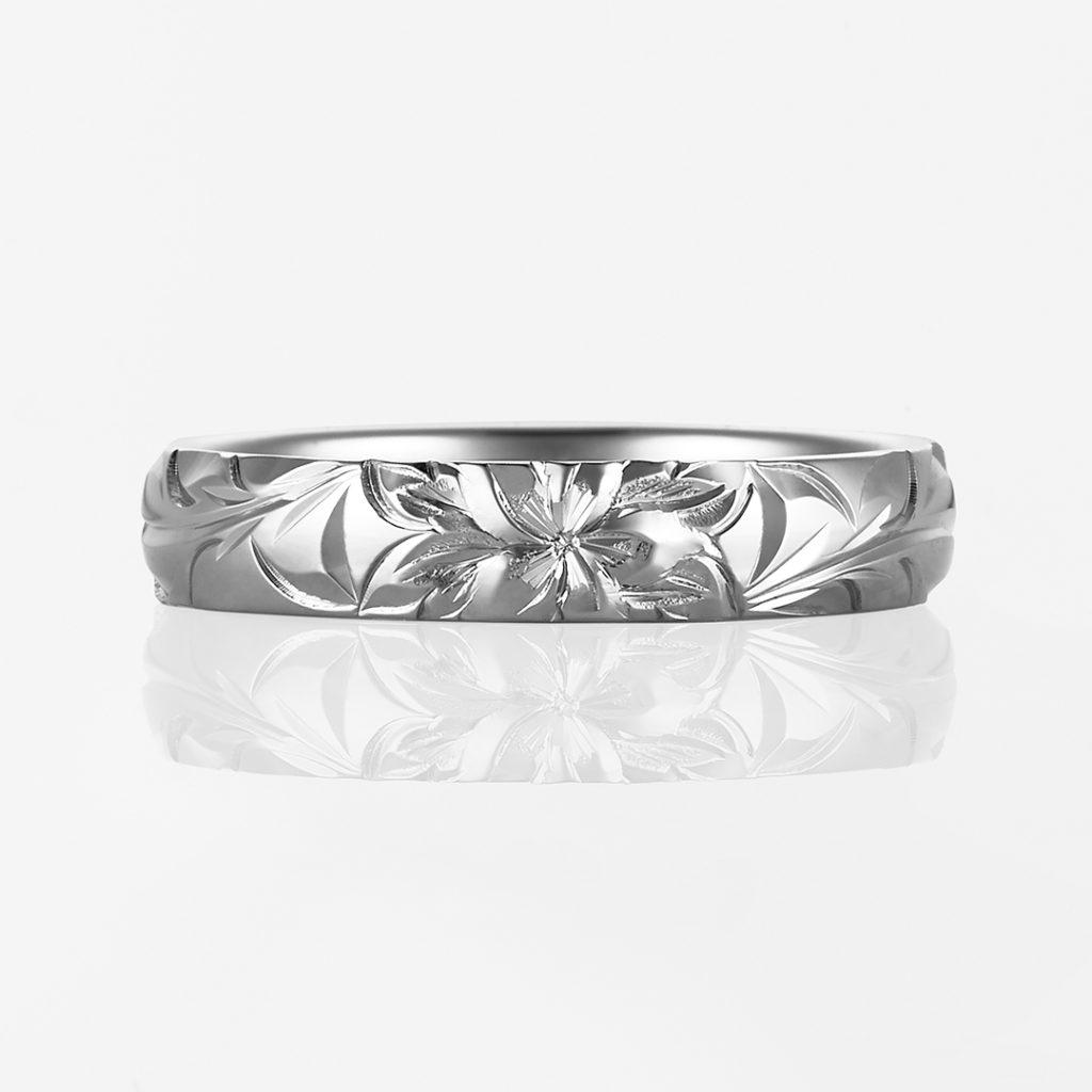 Lala Mana-Plain Barrel- 結婚指輪 個性派 ストレート 幅広 プラチナ