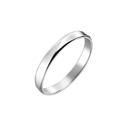 Natural 結婚指輪 シンプル ストレート プラチナ