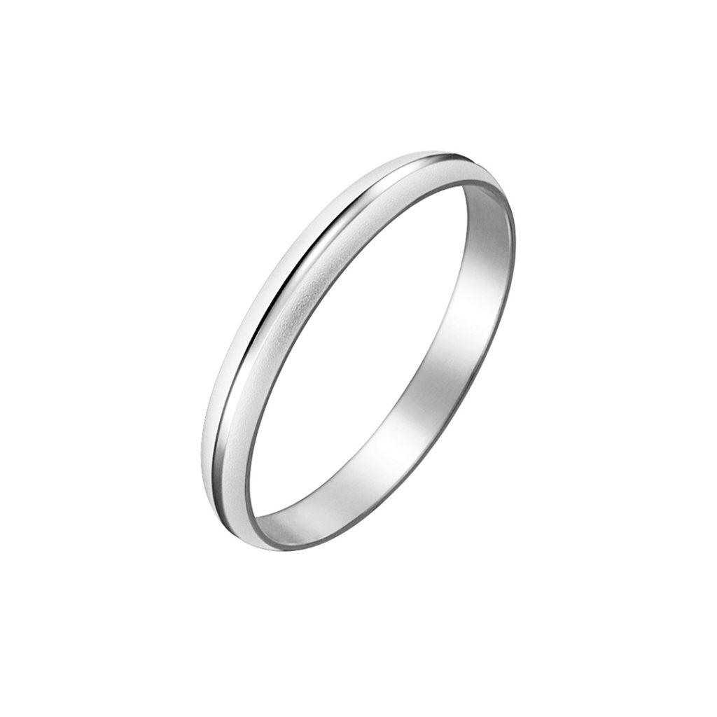Spice 結婚指輪 シンプル ストレート プラチナ