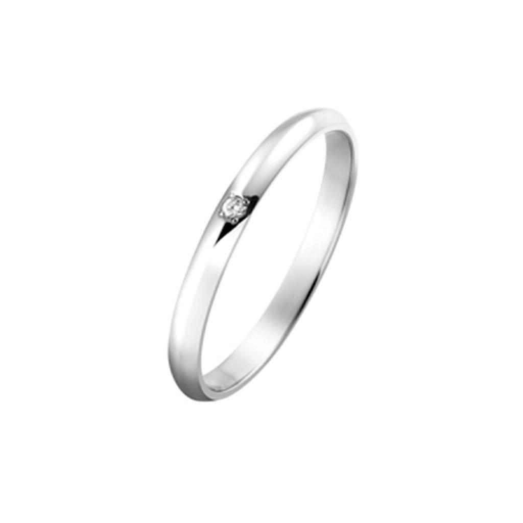 Promise 結婚指輪 シンプル ストレート プラチナ