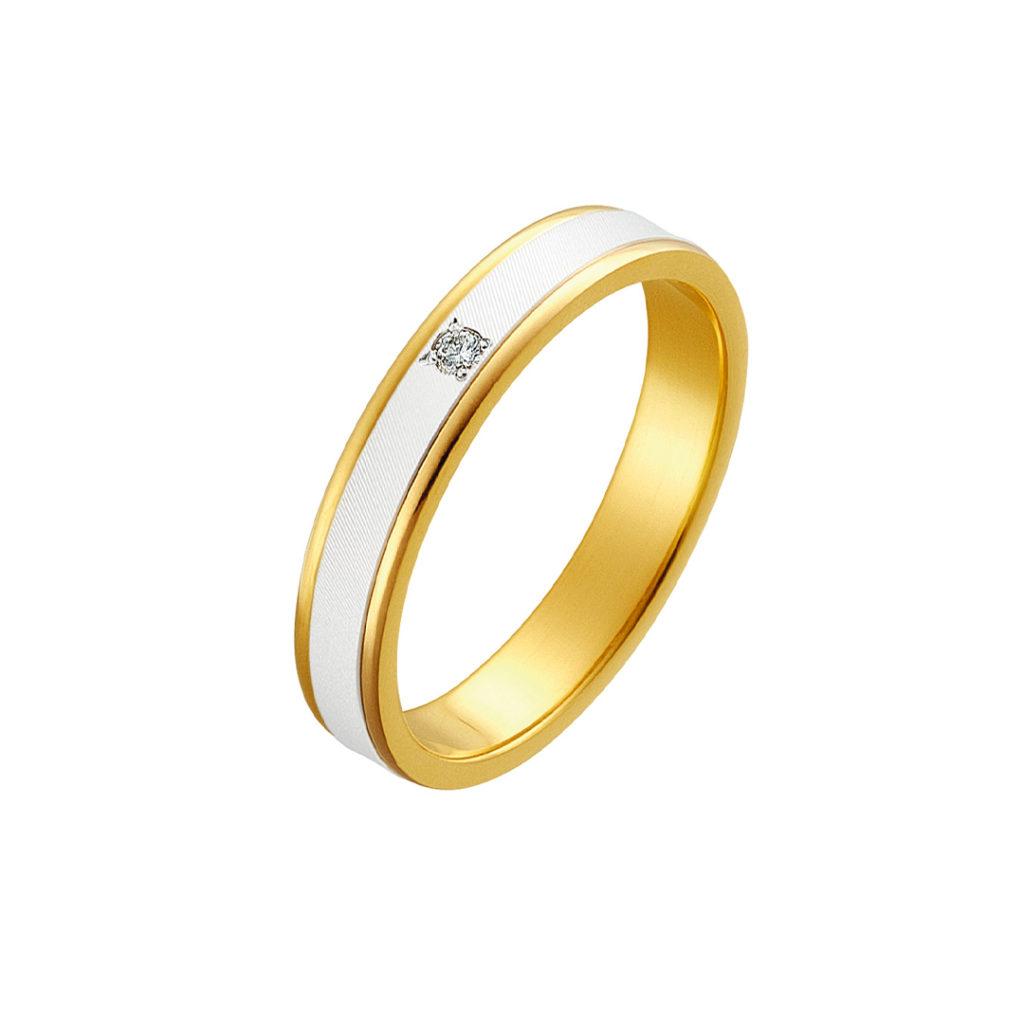 Trust 結婚指輪 シンプル S字(ウェーブ) プラチナ
