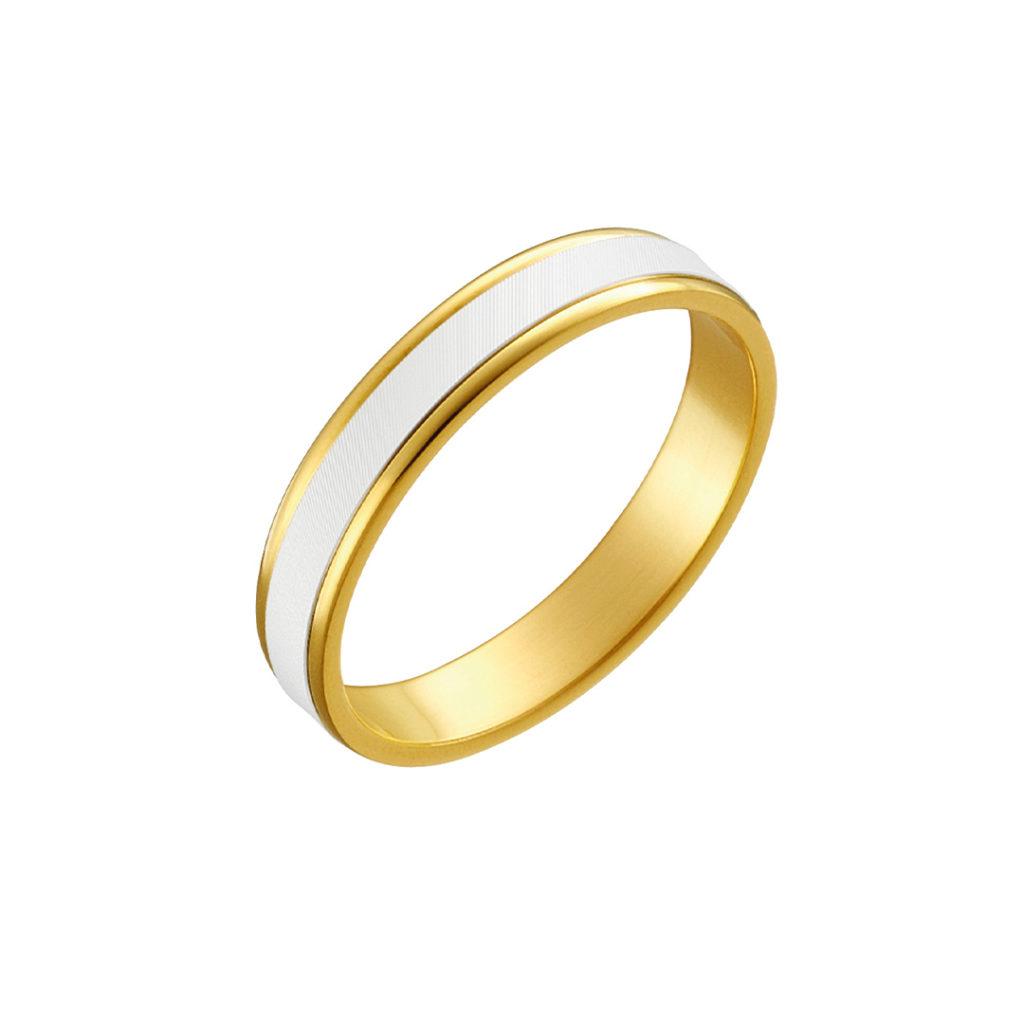 Trust 結婚指輪 シンプル アンティーク ストレート コンビ