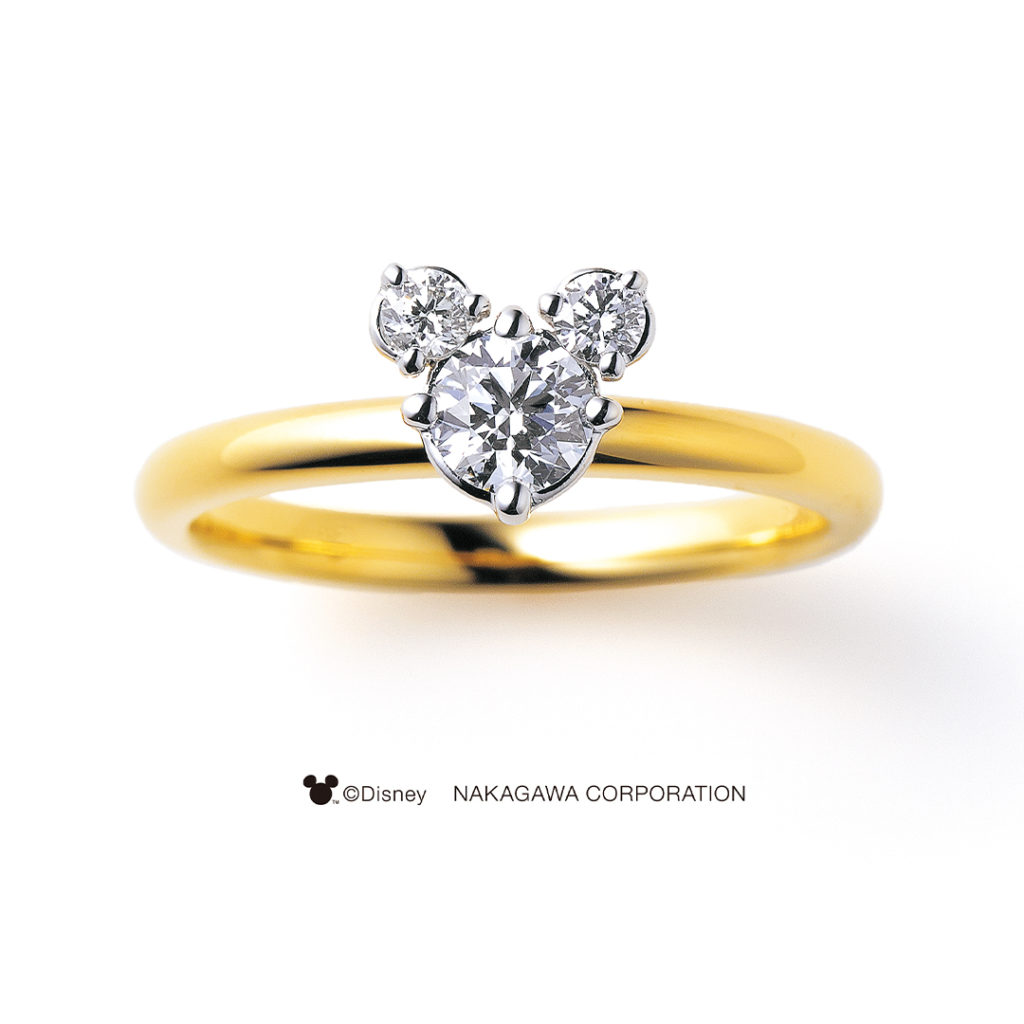 RISING STAR [希望の星] 婚約指輪 キュート 個性派 ストレート