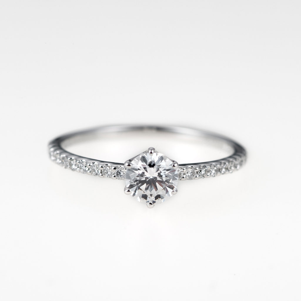 Rosa-ローザ- 婚約指輪 エレガント エタニティ プラチナ