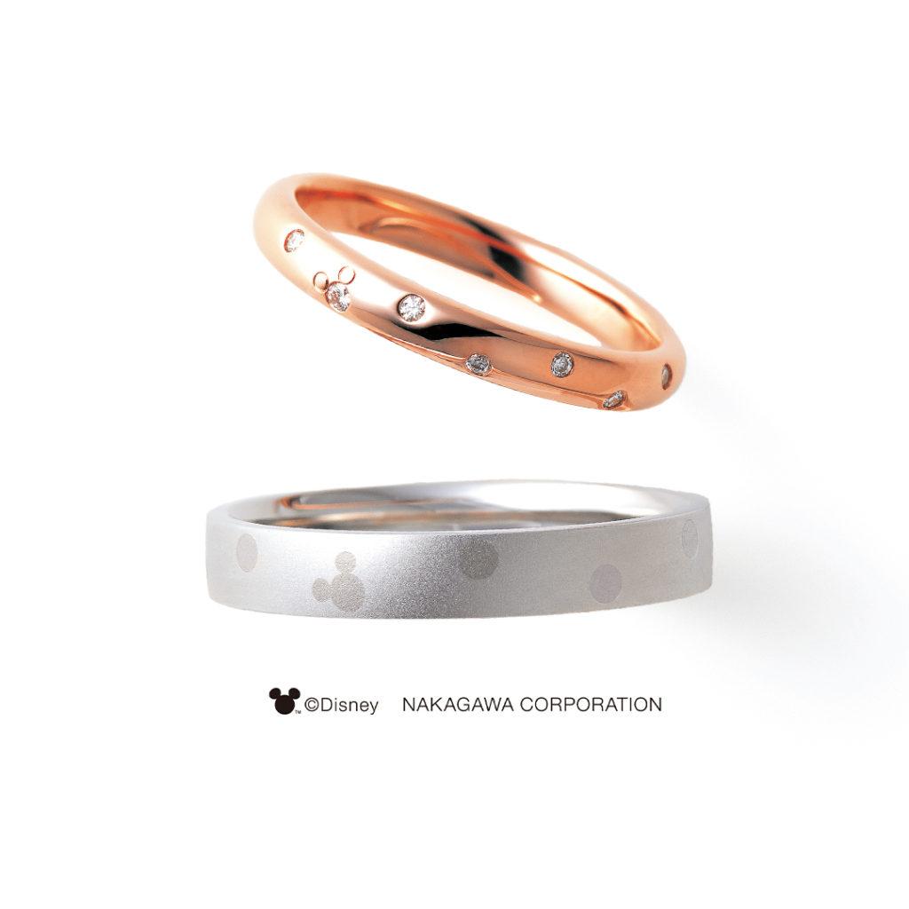 STAR CLUSTER [星団] 結婚指輪 シンプル キュート 個性派 ストレート