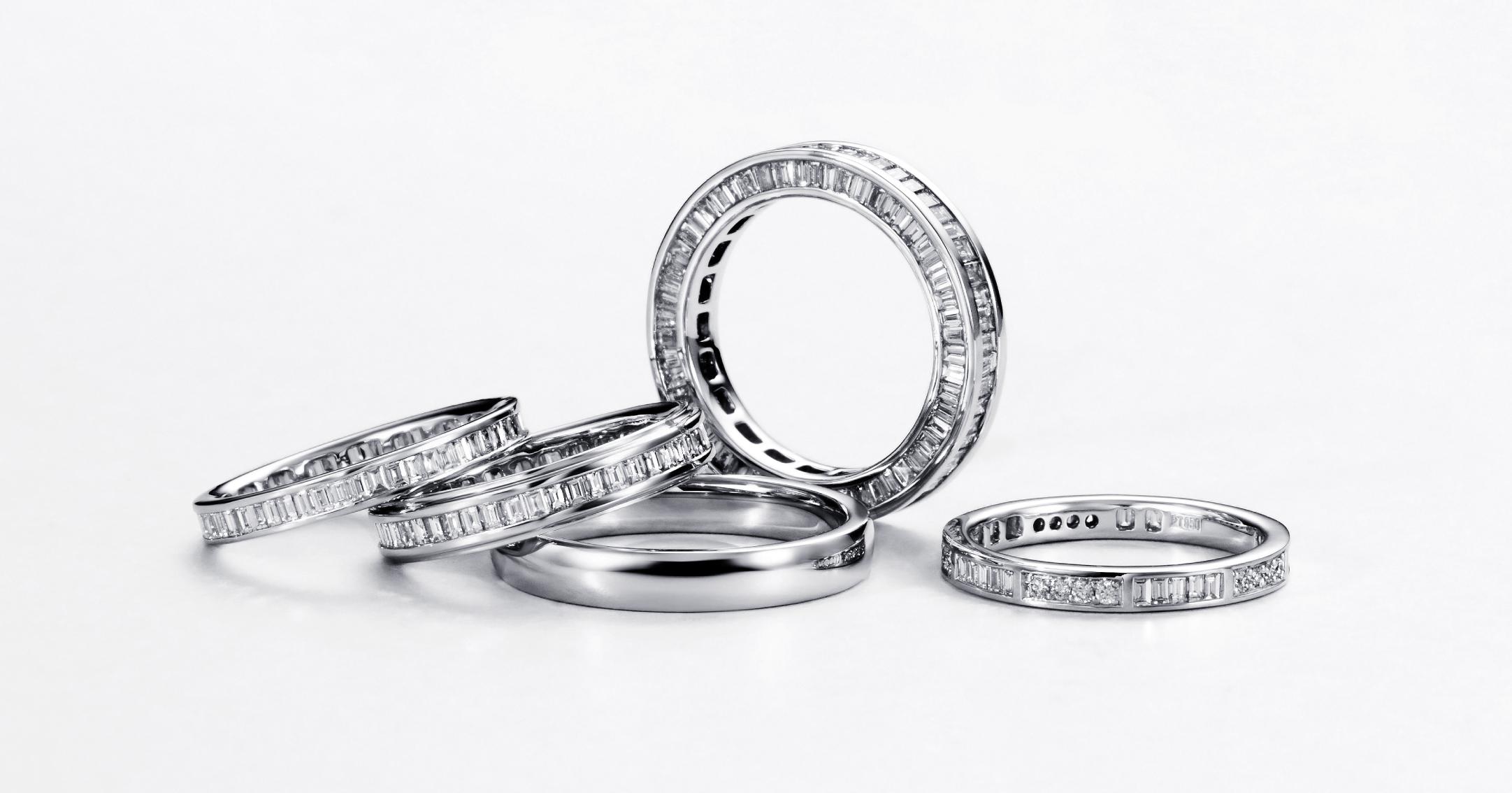 高品質なダイヤと職人の匠の技による上質な輝き