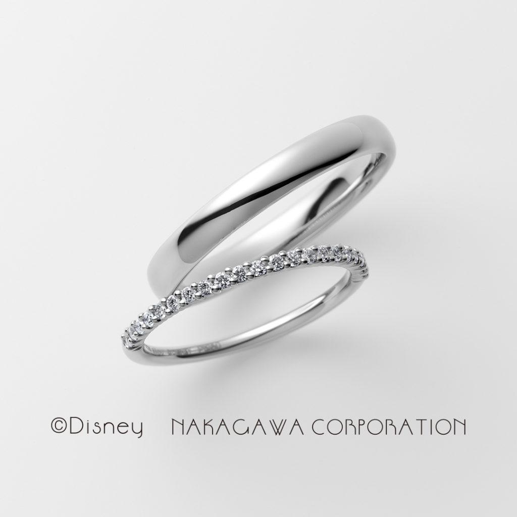 cinderella 結婚指輪 シンプル エレガント キュート ストレート プラチナ