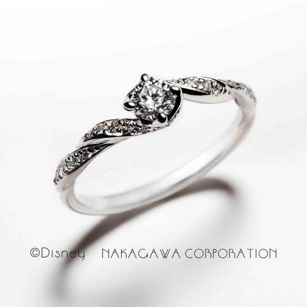 gentle heart 婚約指輪 エレガント キュート ストレート プラチナ
