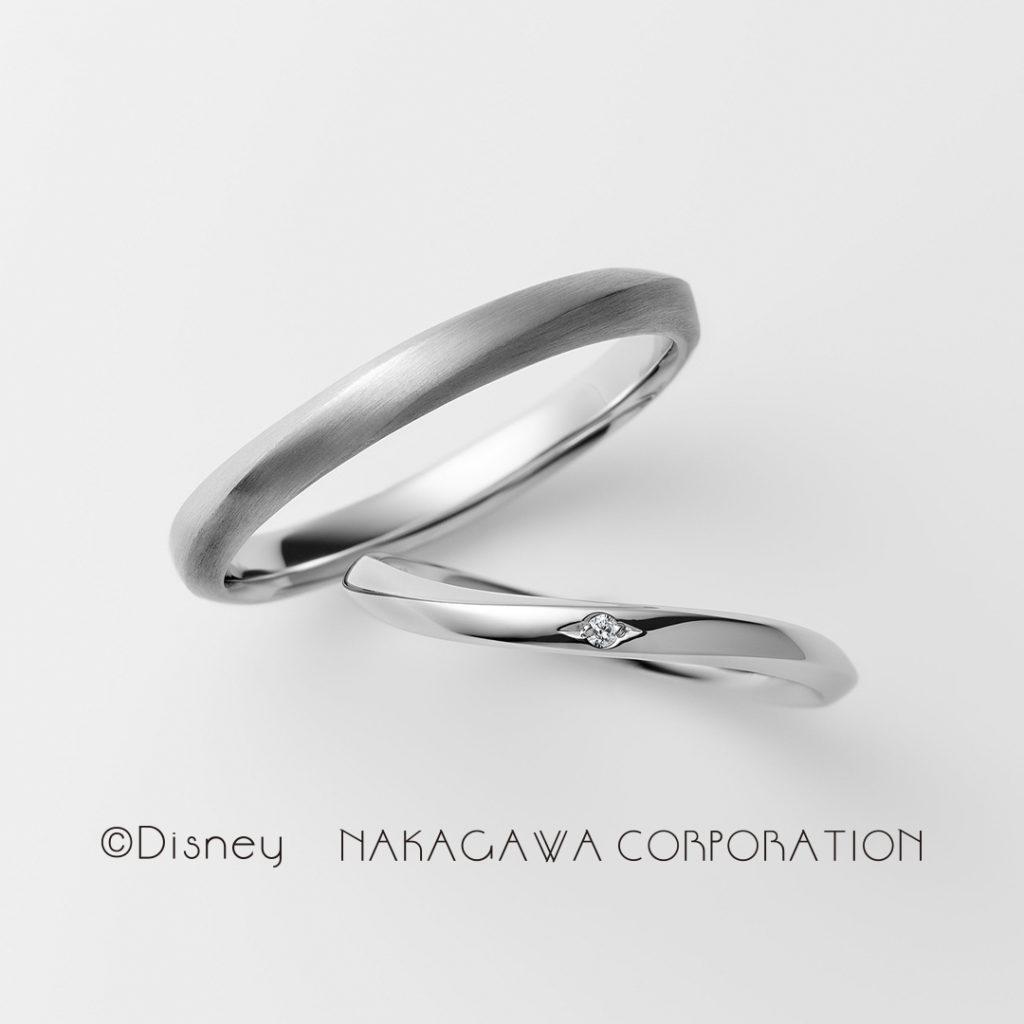 magic fairy 結婚指輪 シンプル キュート S字(ウェーブ) プラチナ