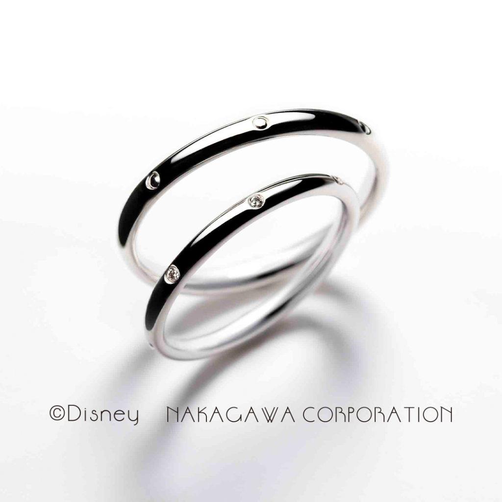 seven dwarfs 結婚指輪 シンプル キュート ストレート プラチナ