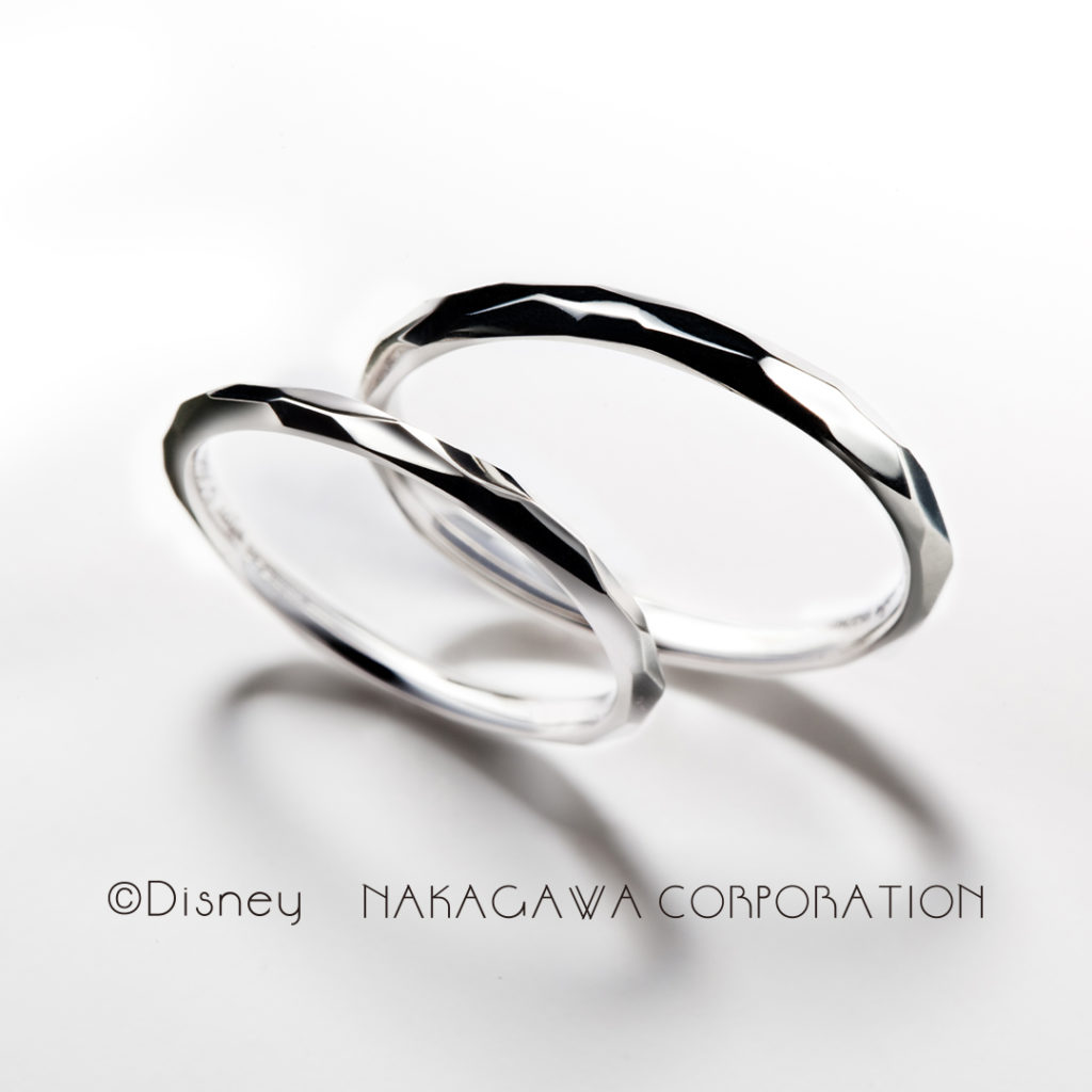 shiningly 結婚指輪 シンプル 個性派 ストレート プラチナ