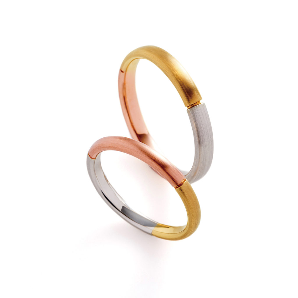 sole 結婚指輪 個性派 ストレート コンビ