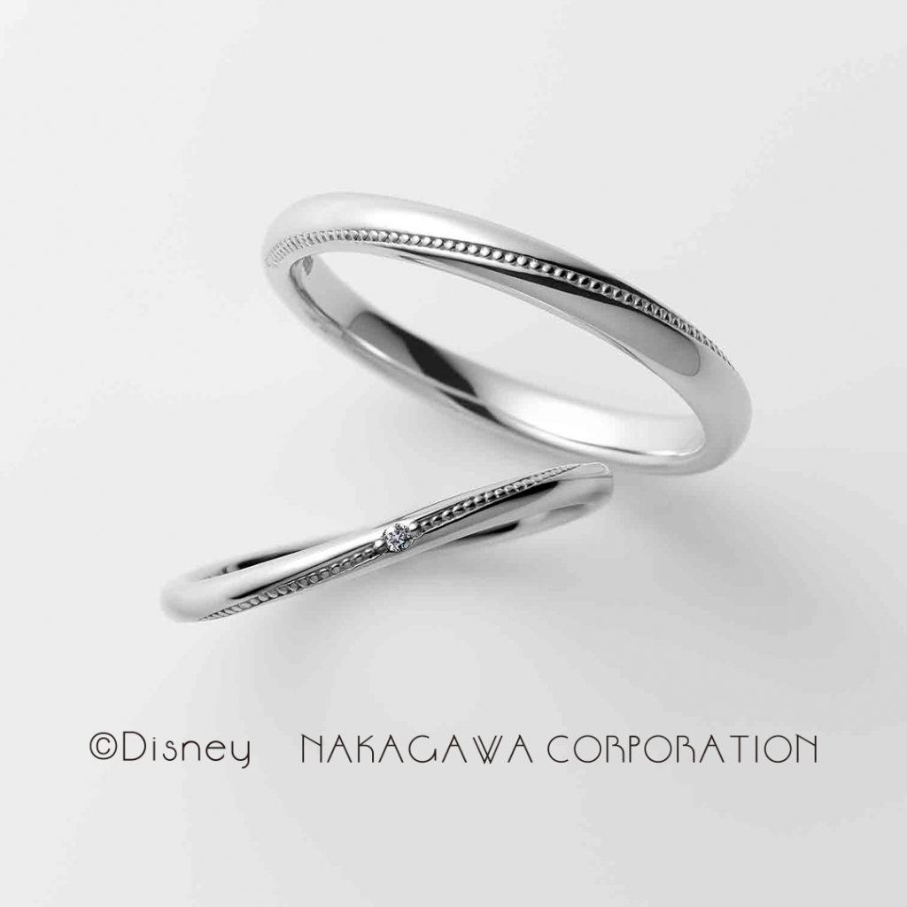 twinkle 結婚指輪 シンプル キュート S字(ウェーブ) プラチナ