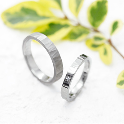 NAO 結婚指輪 シンプル ストレート プラチナ